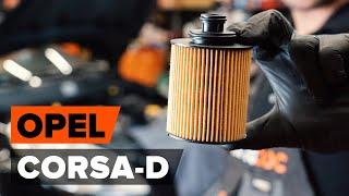 Ako nahradiť Olejový filter OPEL CORSA D - příručka