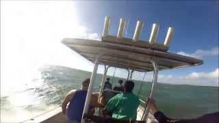 18ft Boat in big waves