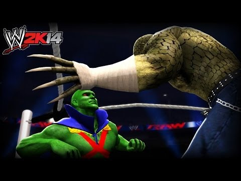WWE 2K14 Tournament: Martian Manhunter VS Killer Croc (Marvel VS DC)
