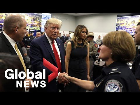 Donald Trump travels to El Paso, Texas in wake of mass shooting