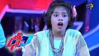Tilana Tilana Song - Varshini Performance - 9 - Dhee Juniors - ETV Telugu
