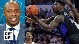 Zion Williamson's versatility and energy are things you can't teach - Jay Williams | Get Up!