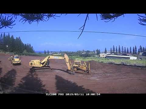 Maui Preparatory Academy Gym Construction Timelapse 02 22 19 thru 04 02 19