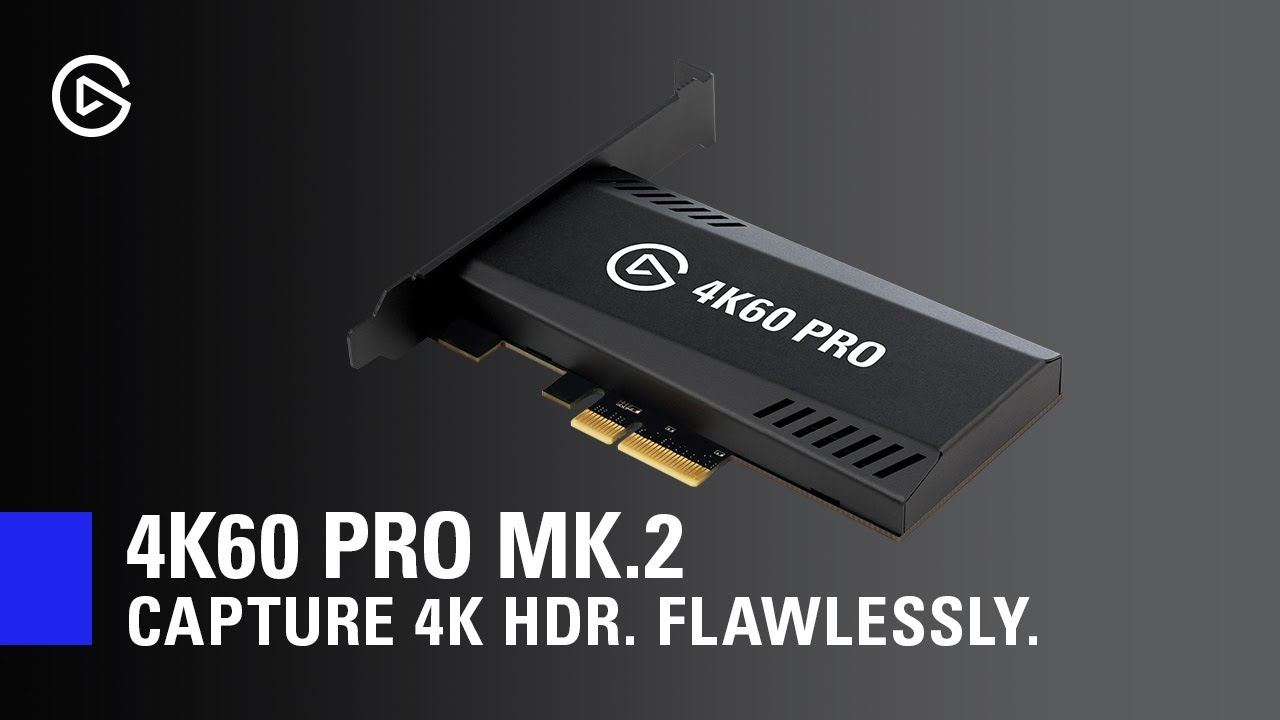 Elgato Adds HDR to 4K60 Pro Capture Card - PCMag Asia