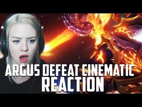ANTORUS/ARGUS DEFEAT CINEMATIC REACTION