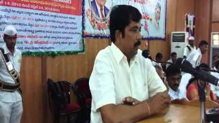 Chaman Saab ZP Chairman/Anantapur Speaking In Anantapur 14-4-2016