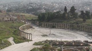 Roman city of Gerasa at Jerash - Jordan