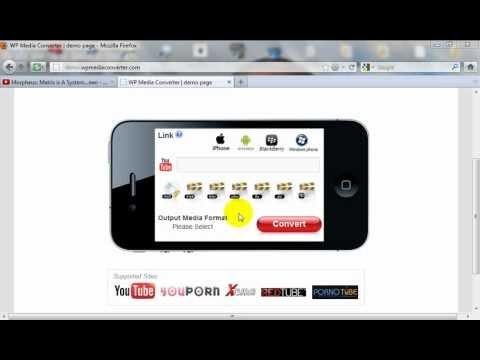 YouTube to MP3 Script PHP - A WordPress Plugin - wpMediaConverter.com