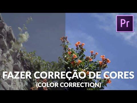 Tutorial Premiere Pro CC - Como fazer  correção de cores (Color Correction)