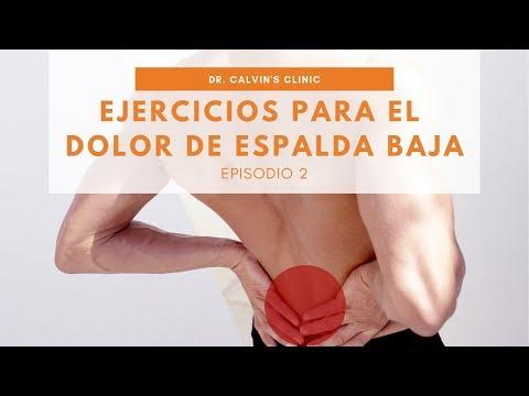 Ejercicios para el dolor de espalda baja - Video 2