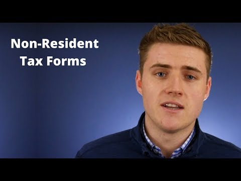 Non-Resident Tax Forms