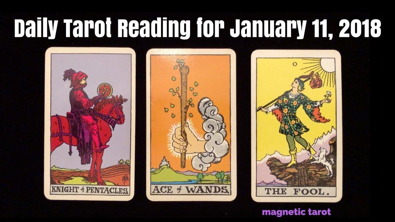 january 11 tarot card
