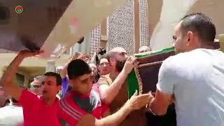 نجوم الفن يشيعون جثمان ماهر عصام من مسجد الشرطة