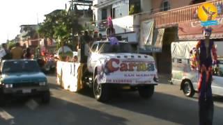 CELEBRAN PRIMER CARNAVAL EN SAN MARCOS, GUERRERO