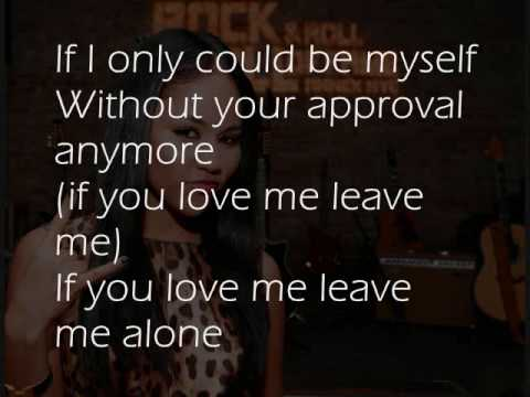 And you leave me naked lyrics