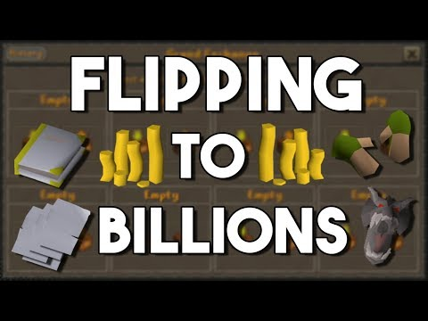 Flipping to Billions In Oldschool Runescape (50M to 1B) Episode #5 [OSRS]