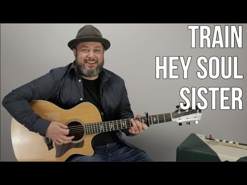 Train Hey Soul Sister Guitar Lesson Easy Acoustic