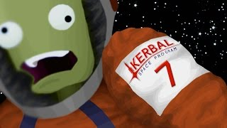 Rescue Mission! [7] Kerbal Space Program 1.0 Career