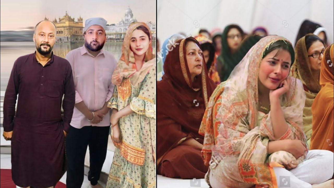 Download Shehnaz Gill In Gurdwara With Her Family Missing Sidharth Shukla |