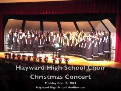 Hayward High School Christmas Choir Concert