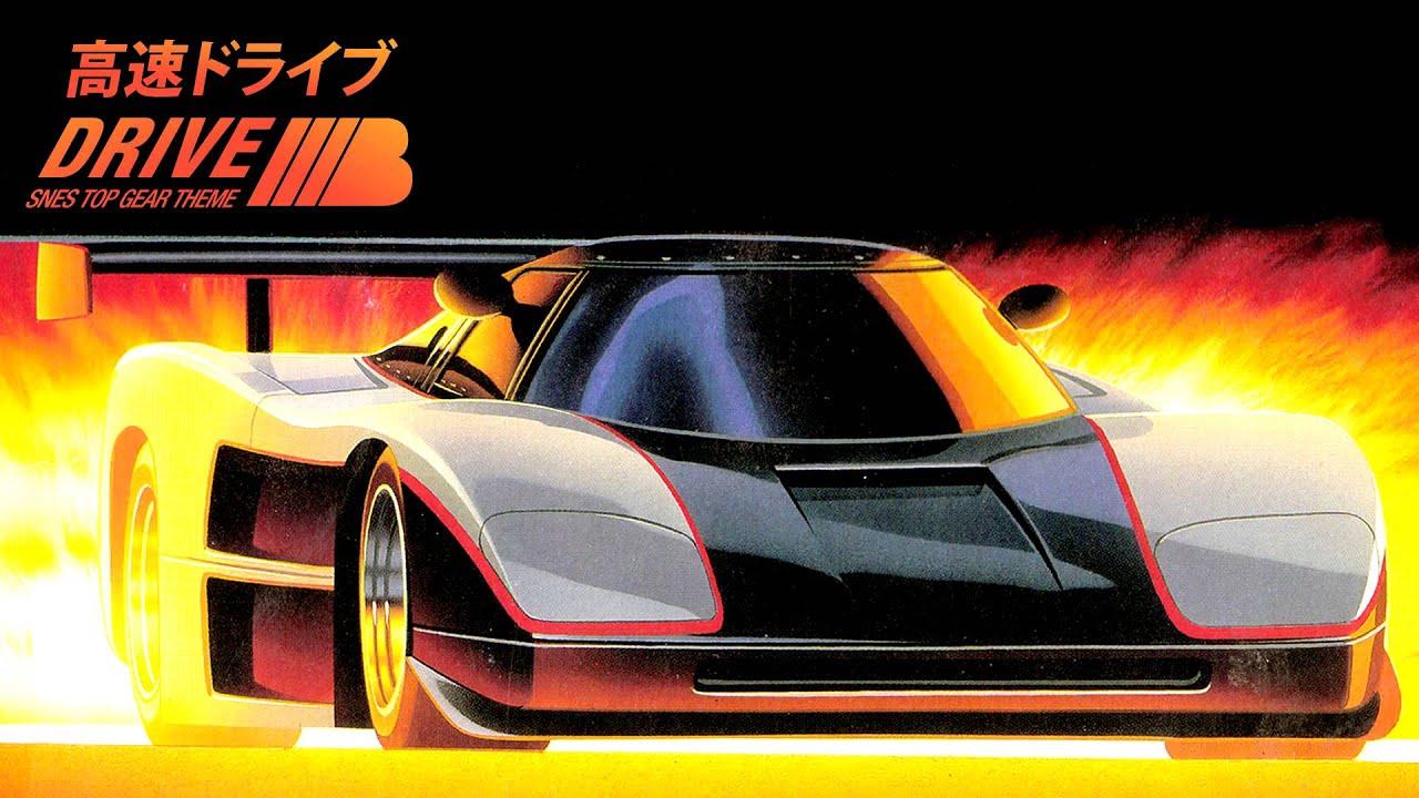 SNES Top Gear (Top Racer) Track 1 Theme Progressive ...