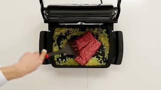 Рецепта за тексаскa яхния в Tefal Optigrill+ с приставка Baking XA7228