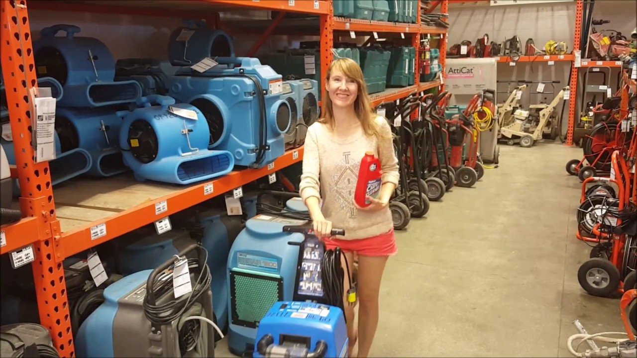 Rug Doctor Carpet Cleaner Rental From Home Depot Youtube