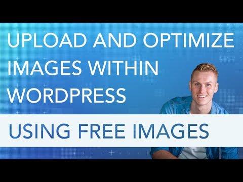Optimize Images Within WordPress Using Free Images - 동영상