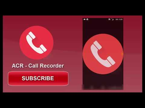 Best Call Recorder in Android Mobile App | ACR - Call Recorder.