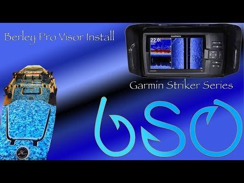 Berley Pro Visor Install and Overview (Garmin Striker Series)