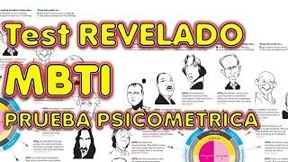 MBTI REVELADO RESPUESTAS EXAMEN LABORAL