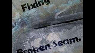 welding brazing big cracks in an aluminum boat hull jon boat bass boat tinny