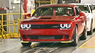 CAR FACTORY: 2017 Dodge Charger and Challenger SRT HELLCAT