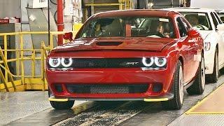 """فيديو"" شاهد إنتاج دودج تشارجر 2017 Dodge Charger and Challenger SRT HELLCAT"