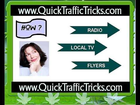 Generating Website Traffic Through Offline Advertising