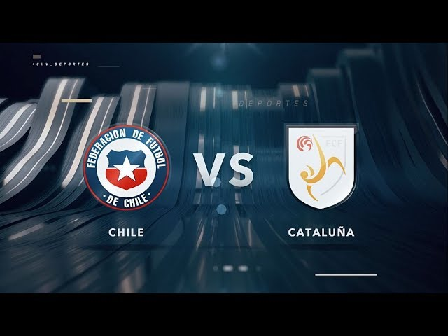 Chile vs Cataluña | Amistoso fútbol femenino | Chilevisión