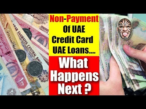 Non-Payment Of UAE Credit Card & UAE Loans....Can I Get Away With It?