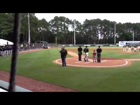 National Anthem @ Savannah Sand Gnats game