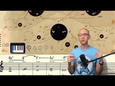 Symbolism in Mapping Tonal Harmony Pro