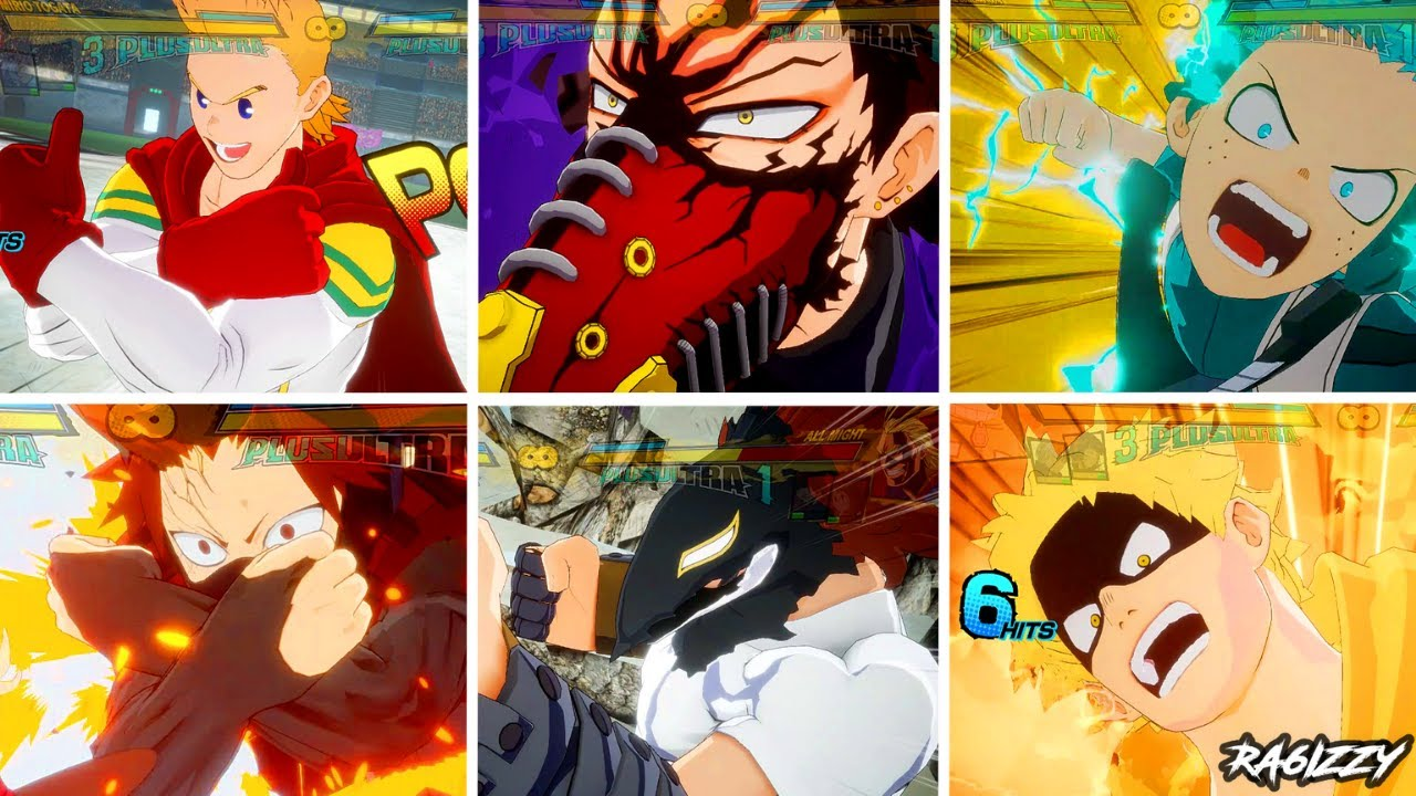My Hero One's Justice 2 - ALL ULTIMATE'S (Plus Ultra Level 1 & 2) HD