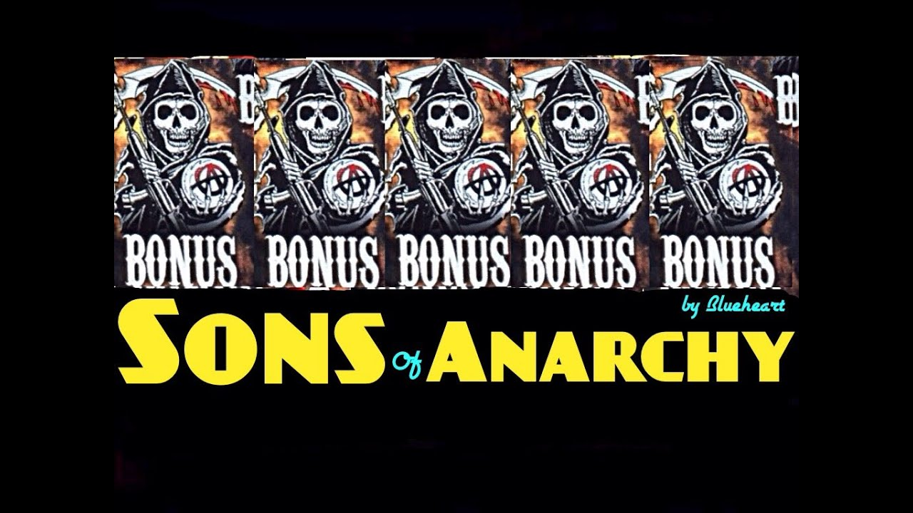 5 Bonus Symbol Sons Of Anarchy Slot Machine Max Bet Huge Win