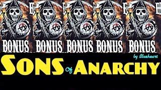 ** 5 BONUS SYMBOL** SONS OF ANARCHY slot machine Max bet HUGE WIN!