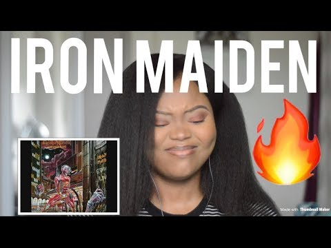 Iron Maiden Wasted Years REACTION!!!