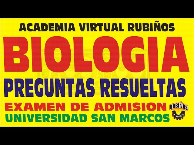 Biologia Repaso Celula Ecologia Genetica Examen De Admision Litetube