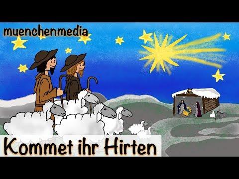 ⭐️ Kommet ihr Hirten - Weihnachtslieder deutsch | Kinderlieder deutsch | Advent - muenchenmedia
