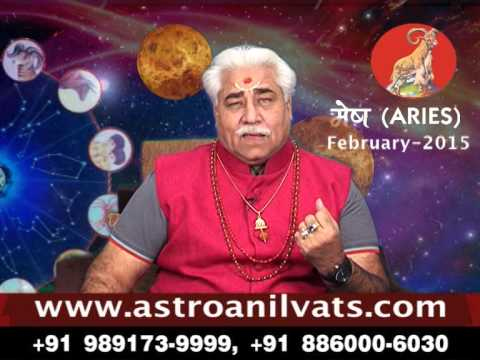 ARIES-Monthly Astro- Predictions for-February-2015 Analysis by Aacharya Anil Vats -ji