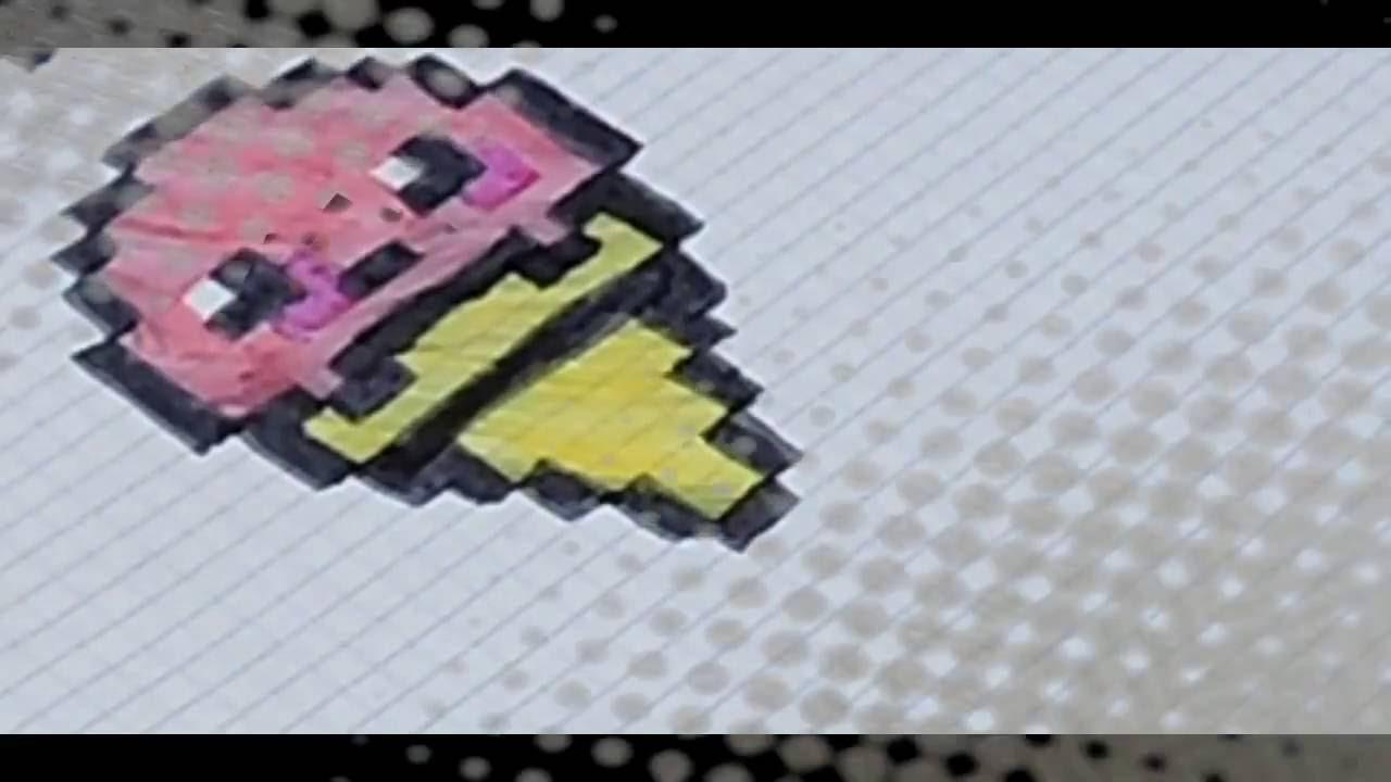 Pixel Art Glace