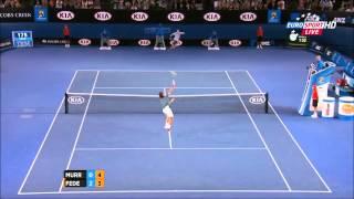 Roger Federer Vs Andy Murray Australian Open 2014 HIGHLIGHTS QF Full HD