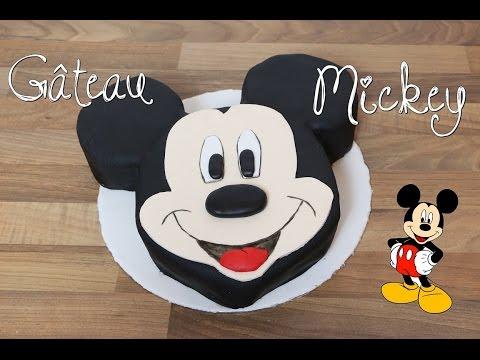 RECETTE GATEAU MICKEY DISNEY   MICKEY MOUSE CAKE   CAKE DESIGN