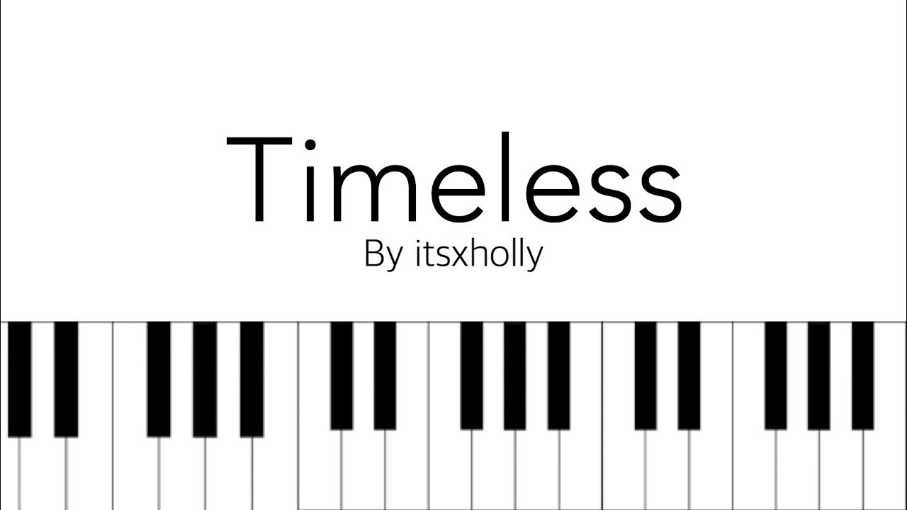 timeless      nct u      piano tutorial   sheets chords